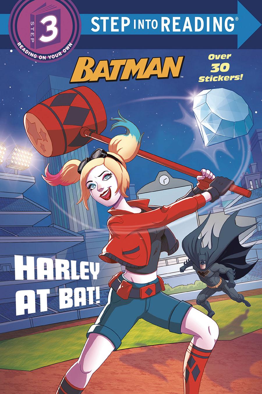 DC Super Heroes Batman Harley At Bat SC