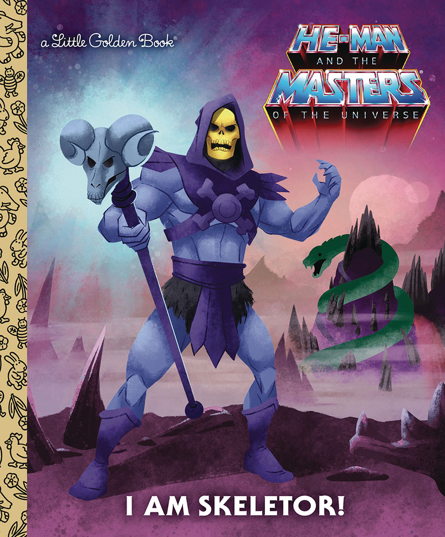 He-Man And The Masters Of The Universe I Am Skeletor Little Golden Book HC