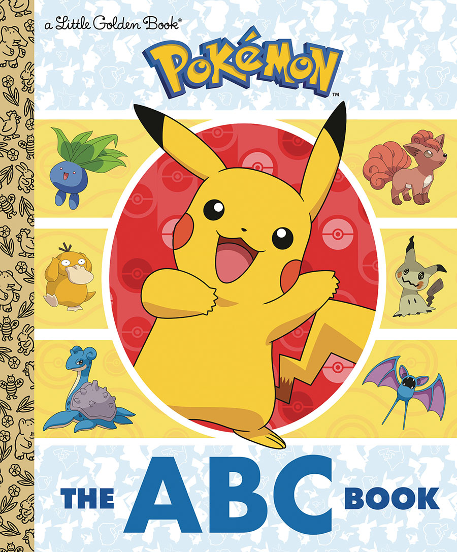 Pokemon ABC Book Little Golden Book HC