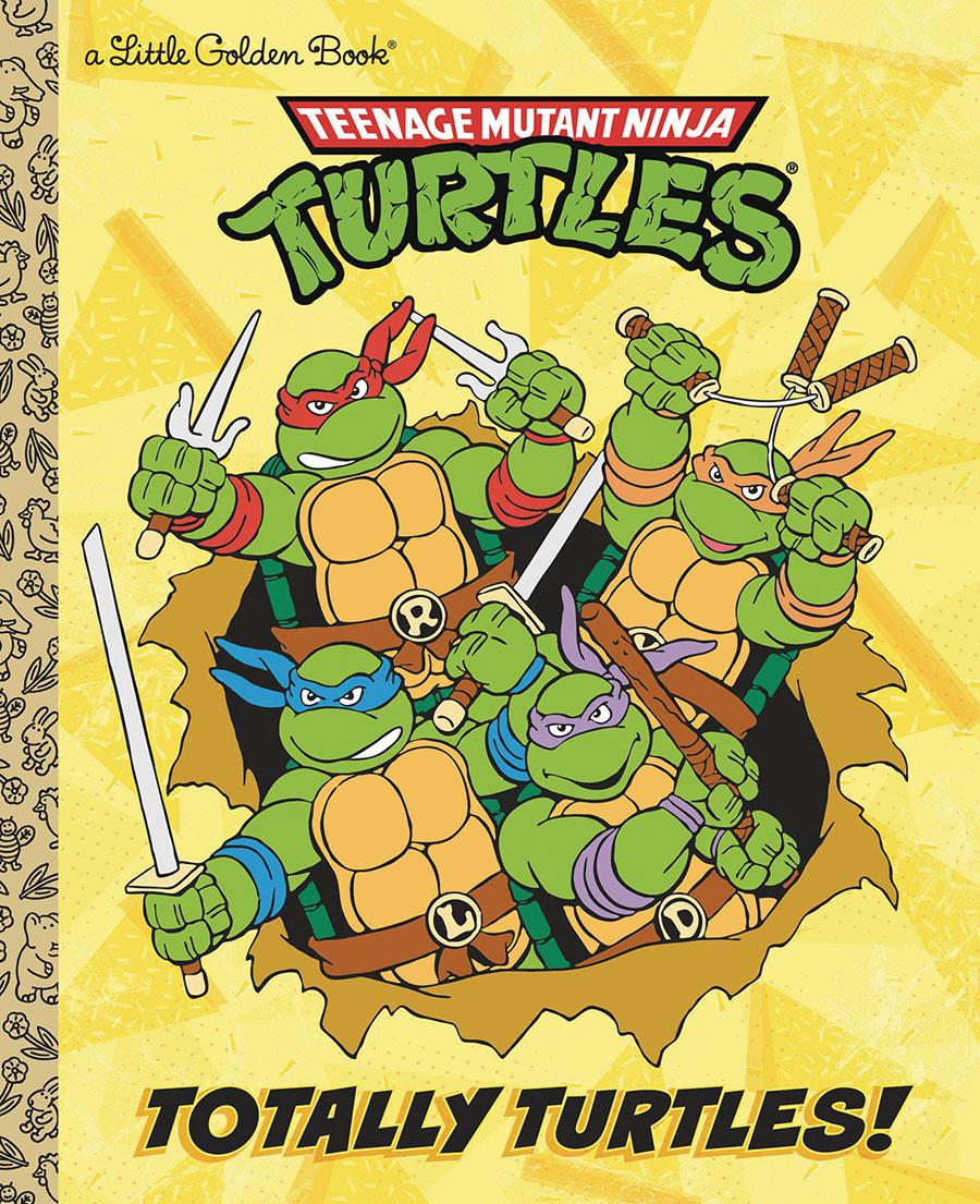 Teenage Mutant Ninja Turtles Totally Turtles Little Golden Book HC