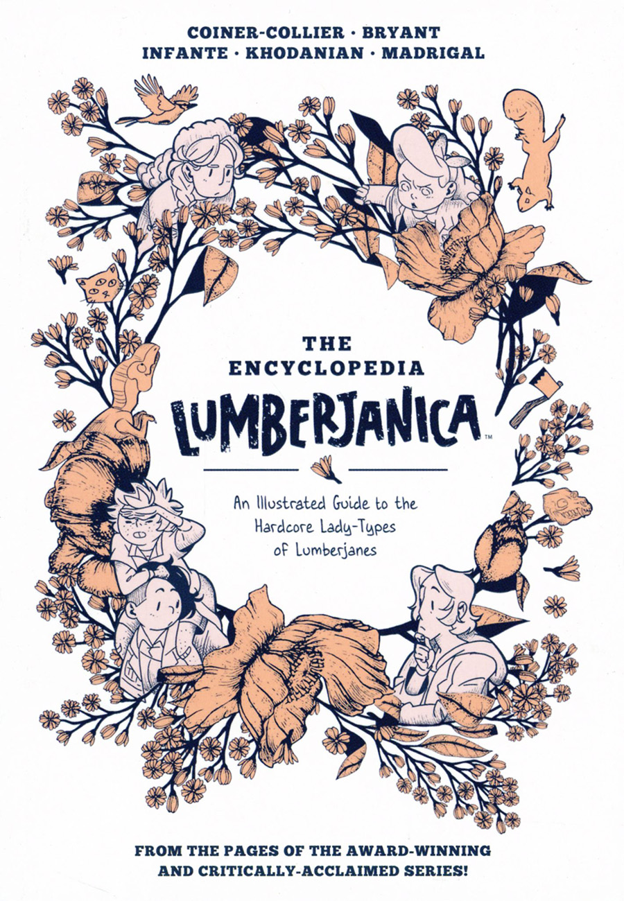 Encyclopedia Lumberjanica An Illustrated Guide To The Hardcore Lady Types Of Lumberjanes TP