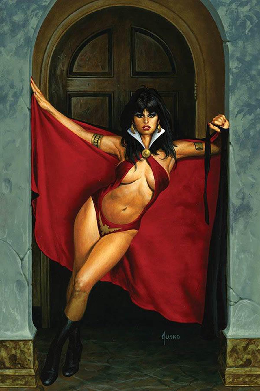 Vampirella Vol 8 #13 Cover W Limited Edition Joe Jusko Virgin Cover