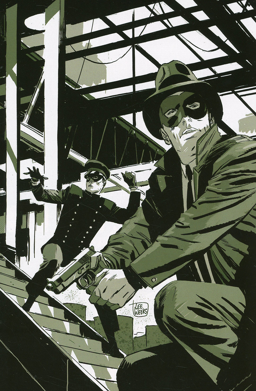 Green Hornet Vol 5 #2 Cover F Limited Edition Lee Weeks Virgin Cover