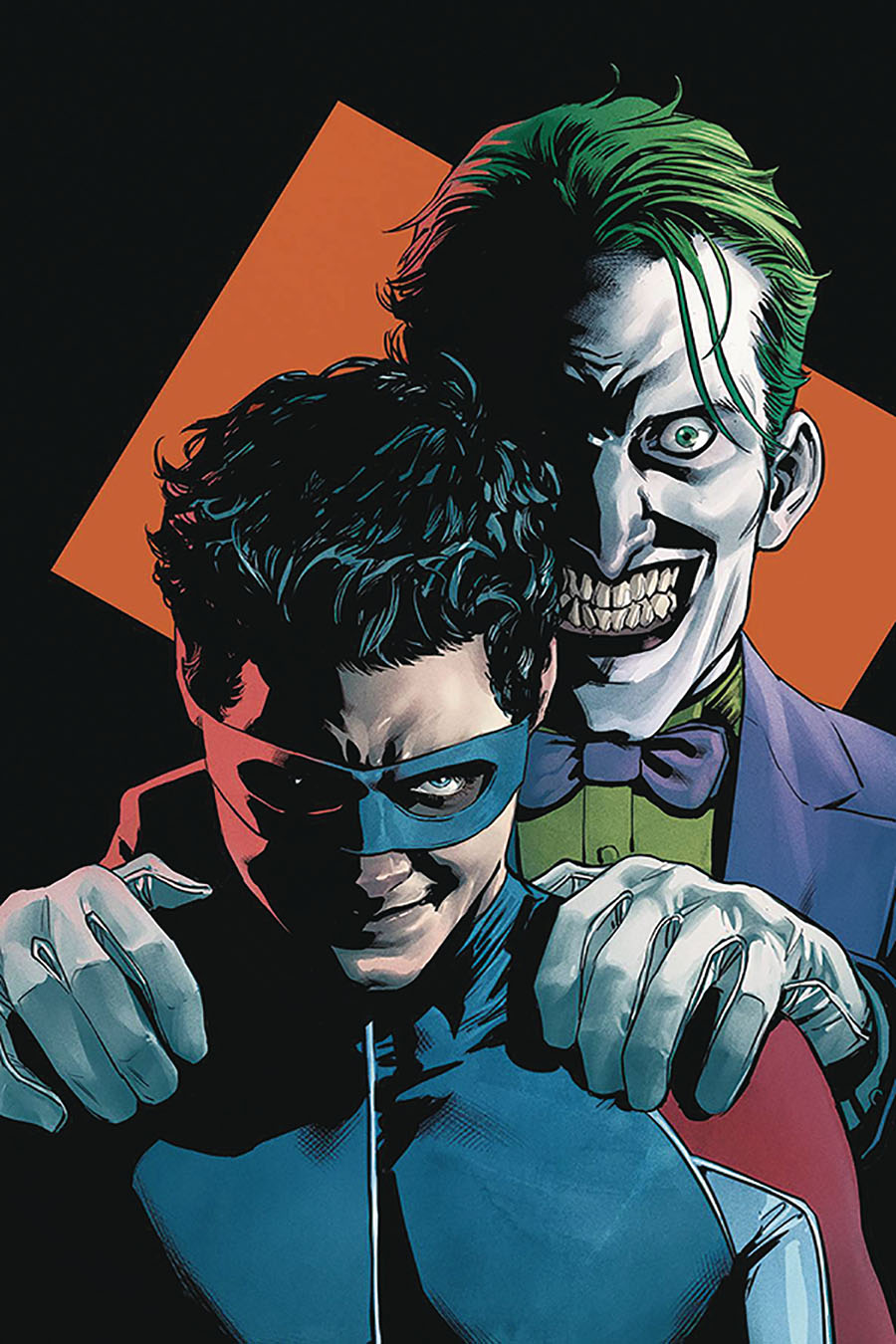 Nightwing Vol 4 #73 Cover C DF Signed By Dan Jurgens (Joker War Tie-In)