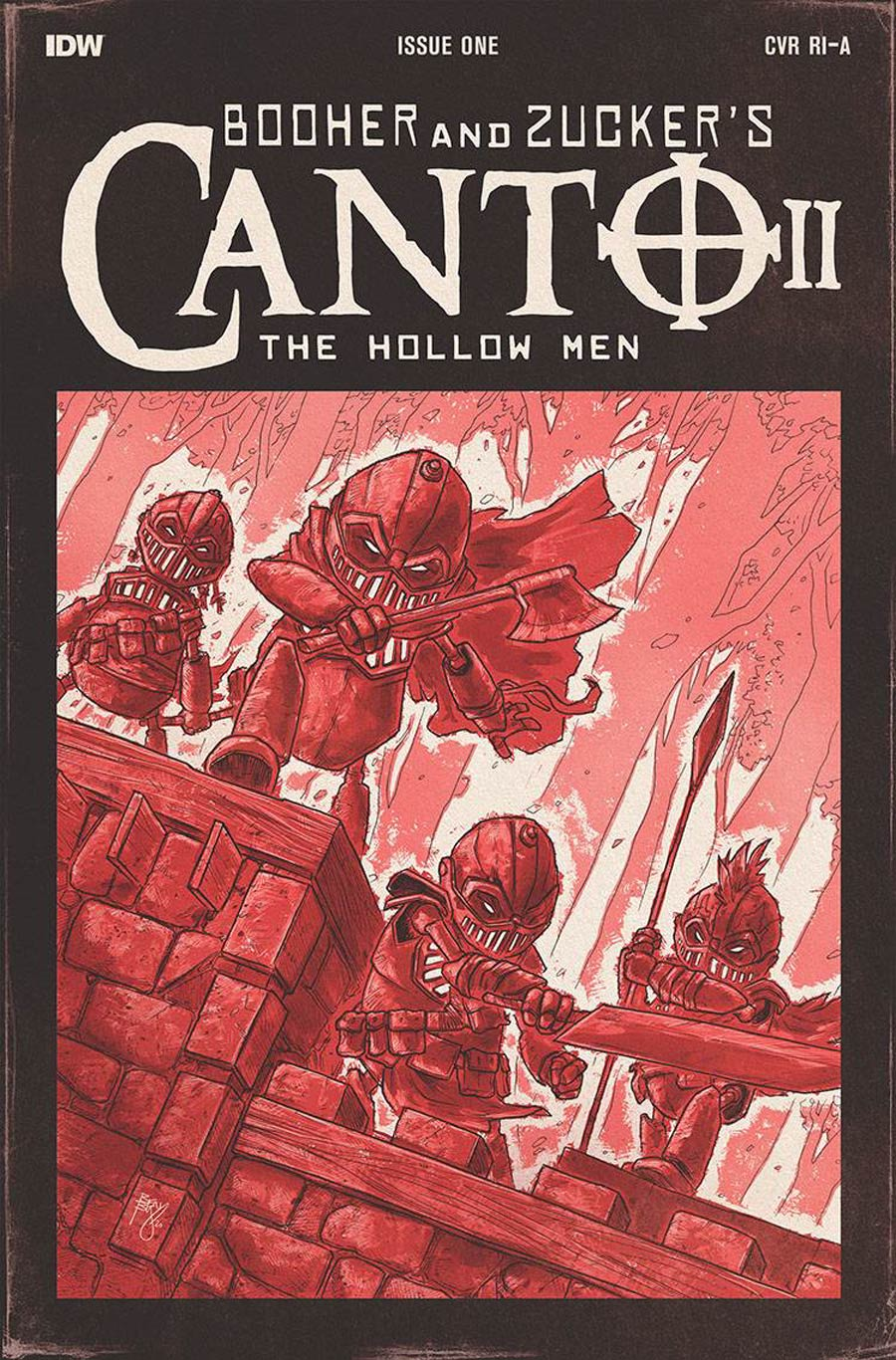 Canto II Hollow Men #1 Cover B Incentive Ben Bishop Variant Cover