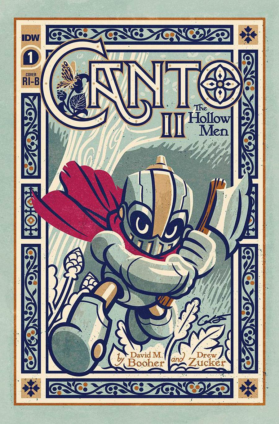 Canto II Hollow Men #1 Cover C Incentive George Caltsoudas Variant Cover