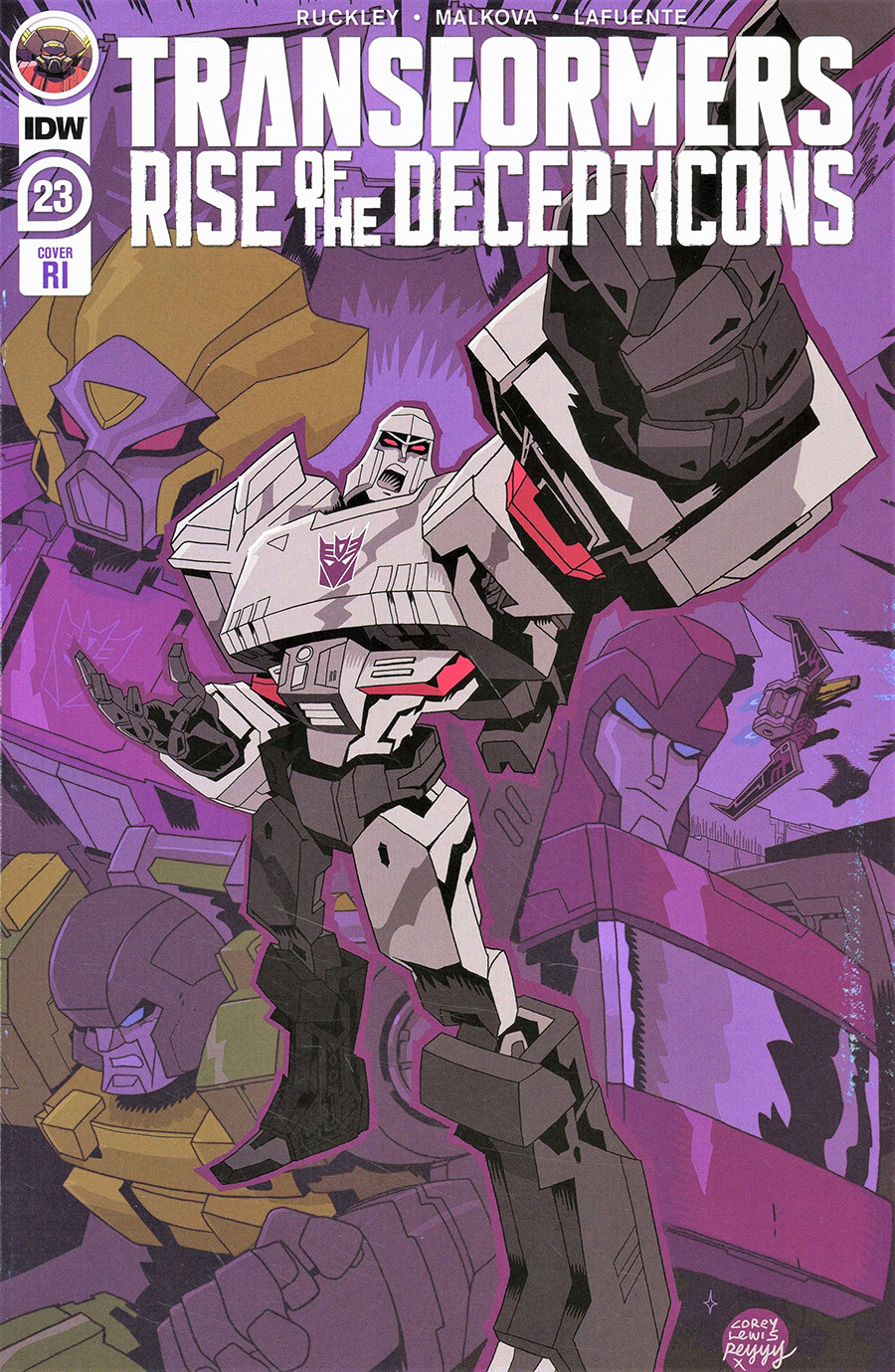 Transformers Vol 4 #23 Cover C Incentive Corey Lewis Variant Cover