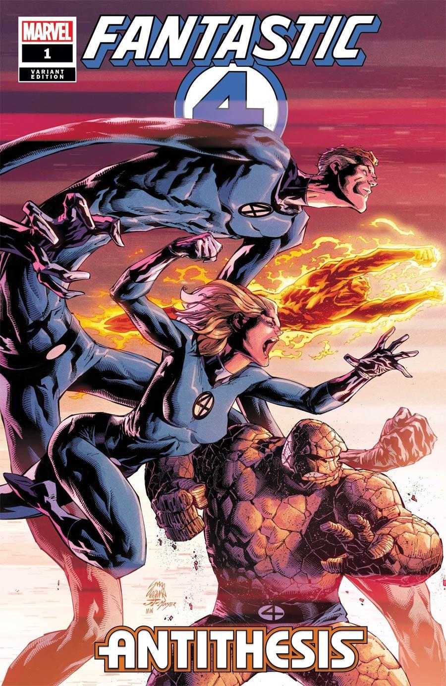 Fantastic Four Antithesis #1 Cover E Incentive Ryan Stegman Variant Cover