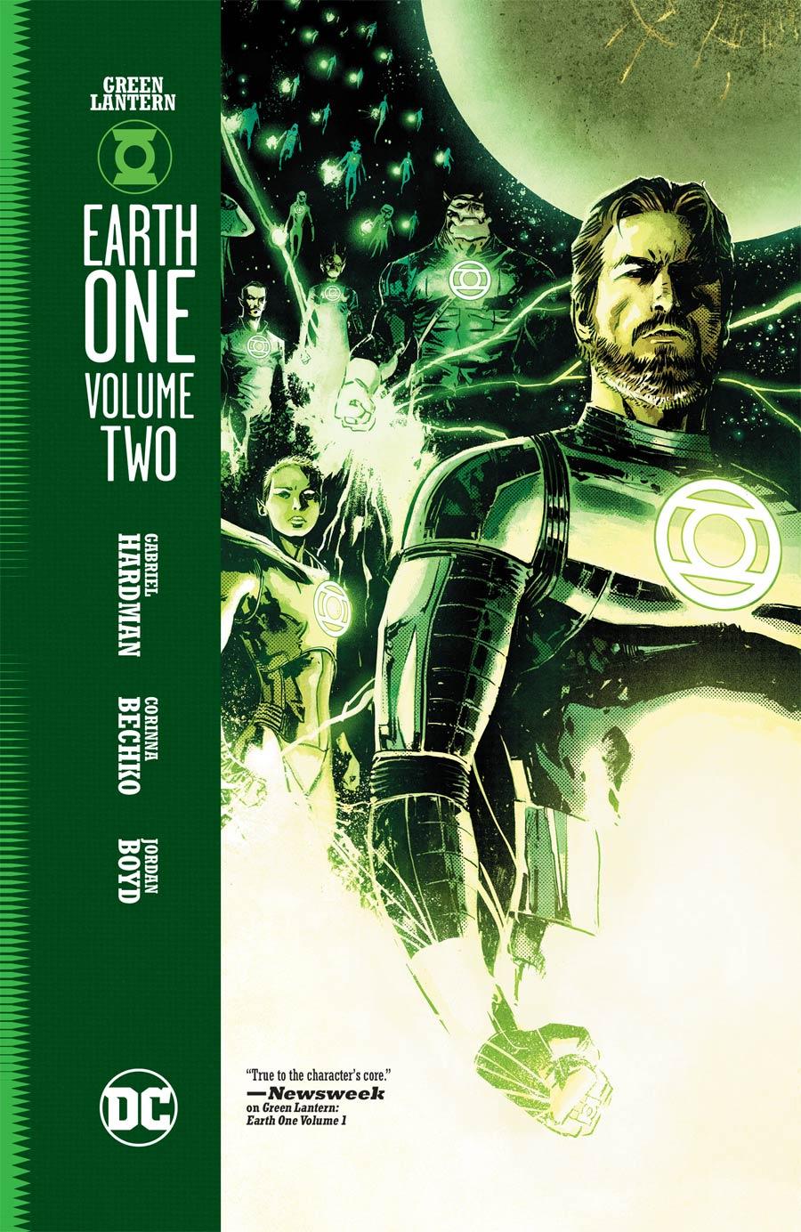 Green Lantern Earth One Vol 2 HC