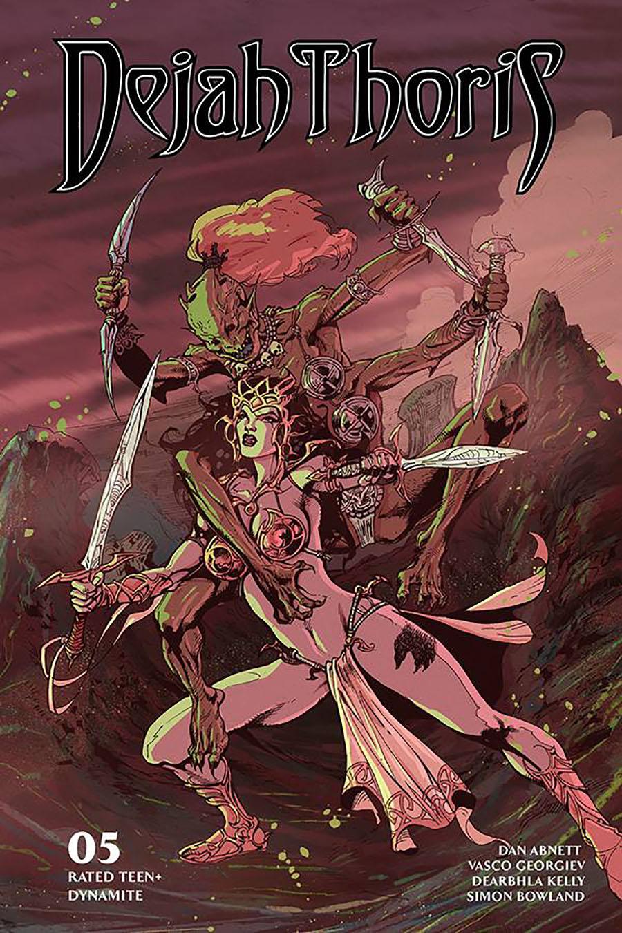 Dejah Thoris Vol 3 #5 Cover F Variant Roberto Castro Cover