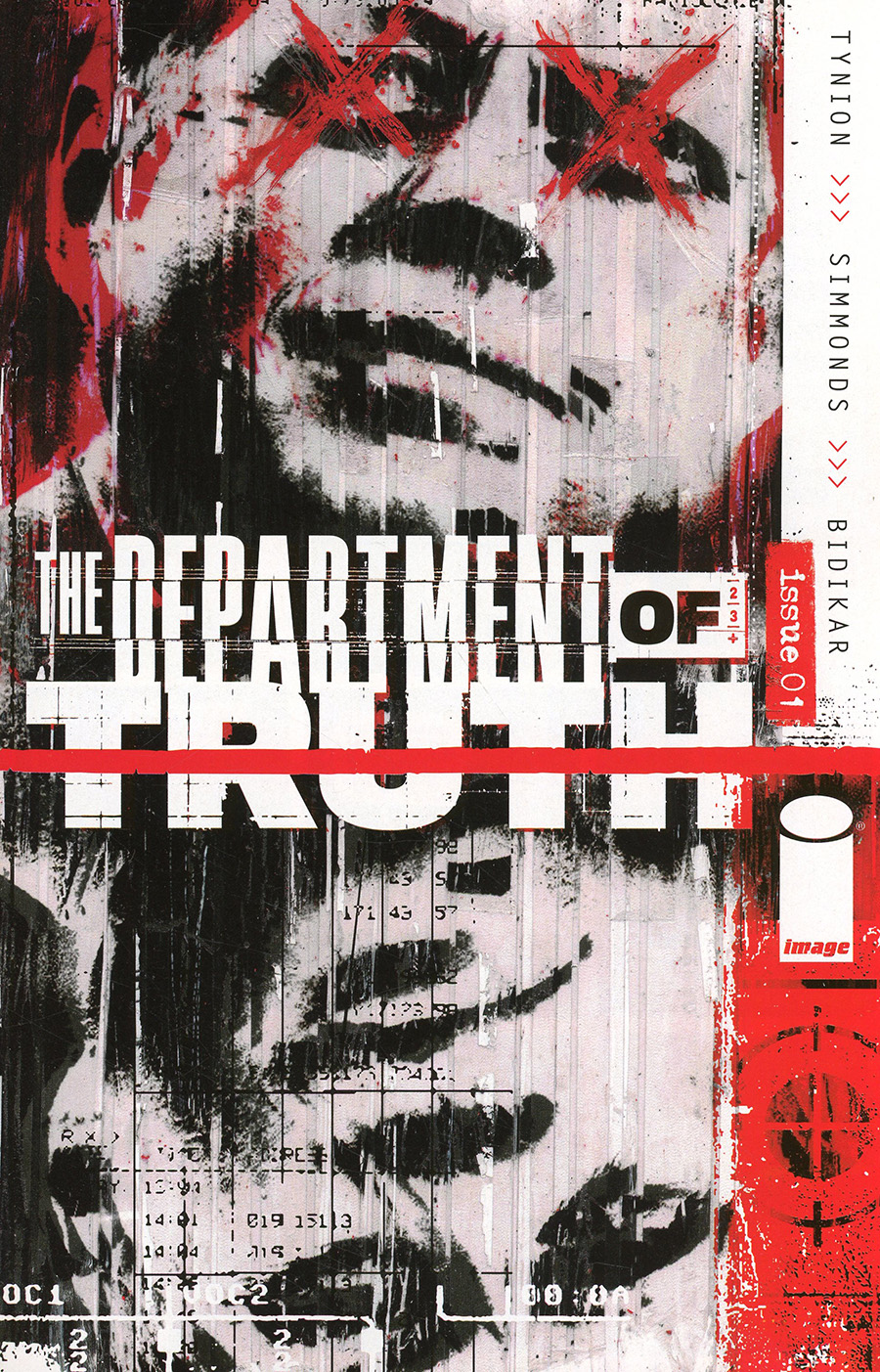 Department Of Truth #1 Cover A 1st Ptg Regular Martin Simmonds Cover