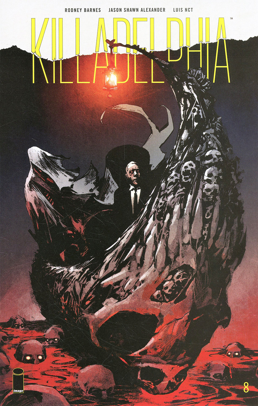 Killadelphia #8 Cover A Regular Jason Shawn Alexander Cover
