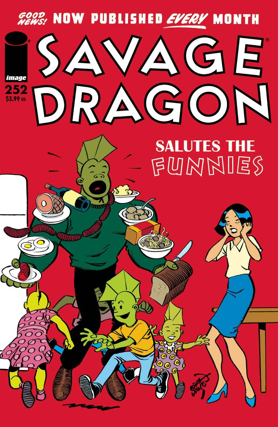 Savage Dragon Vol 2 #252 Cover A 1st Ptg
