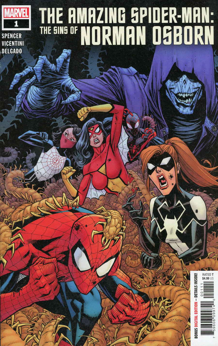 Amazing Spider-Man Sins Of Norman Osborn #1 Cover A Regular Ryan Ottley Cover