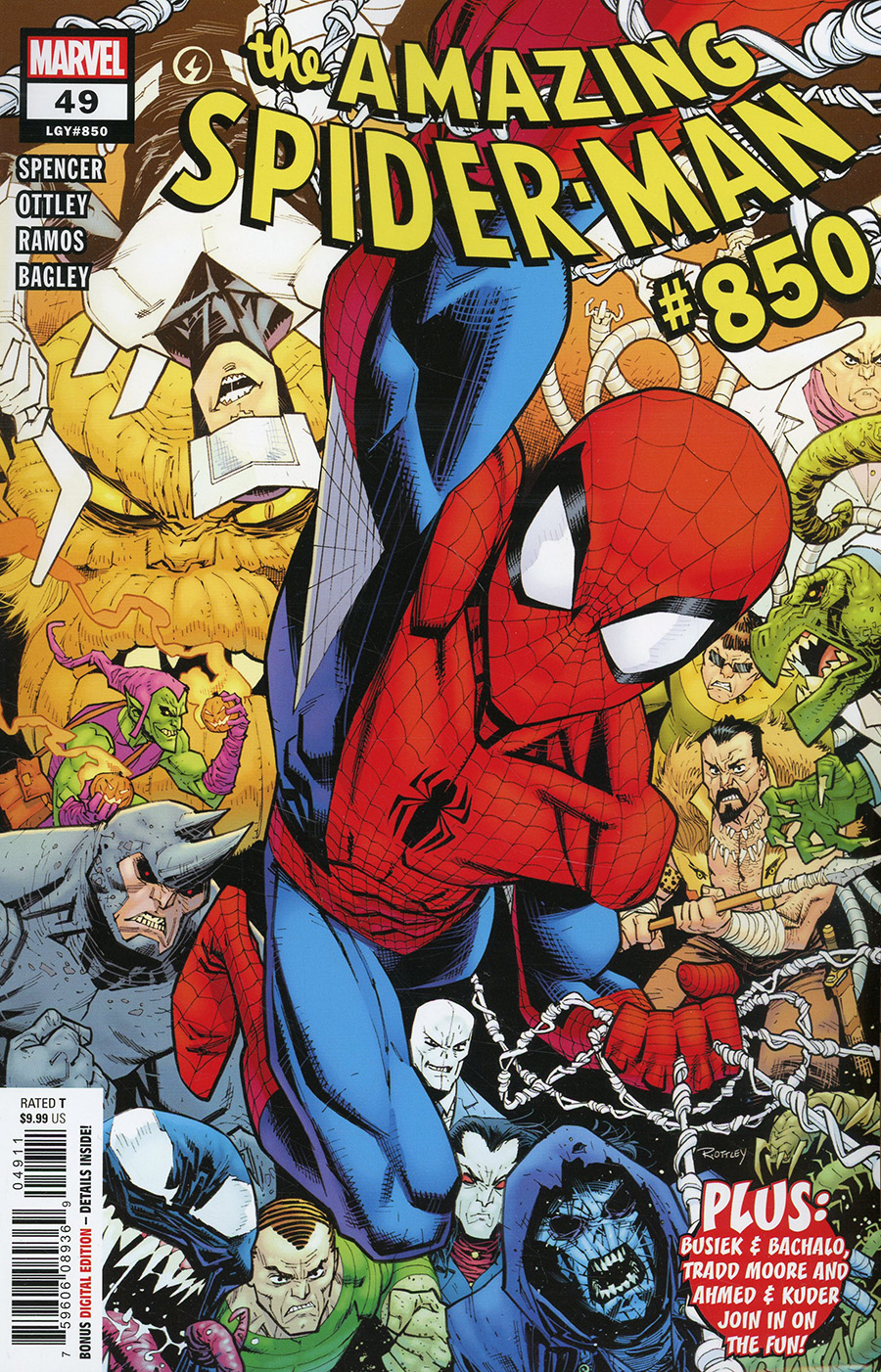 Amazing Spider-Man Vol 5 #49 Cover A Regular Ryan Ottley Cover (#850)