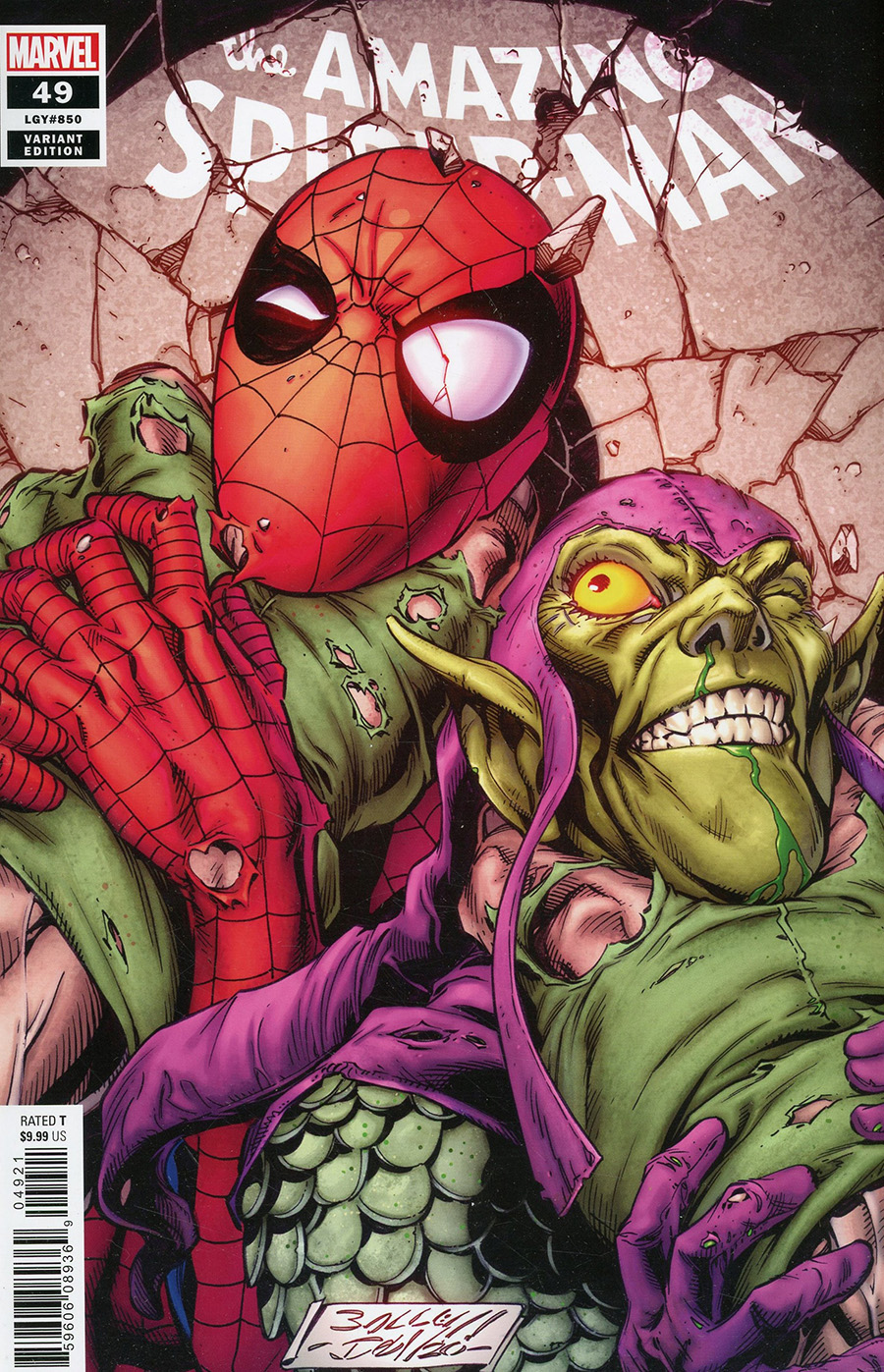 Amazing Spider-Man Vol 5 #49 Cover B Variant Mark Bagley Cover (#850)