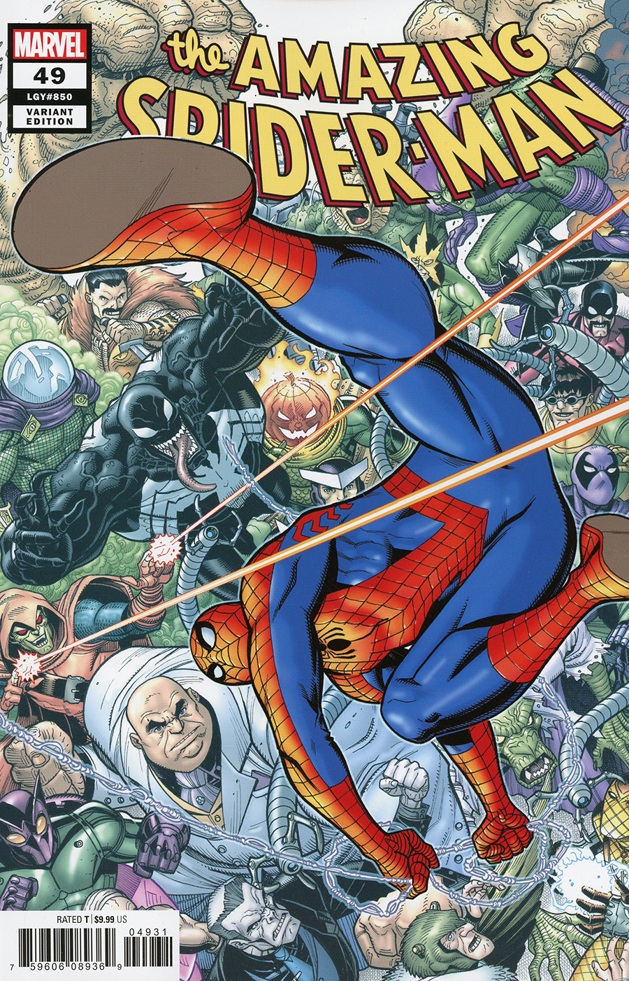 Amazing Spider-Man Vol 5 #49 Cover C Variant Nick Bradshaw Cover (#850)