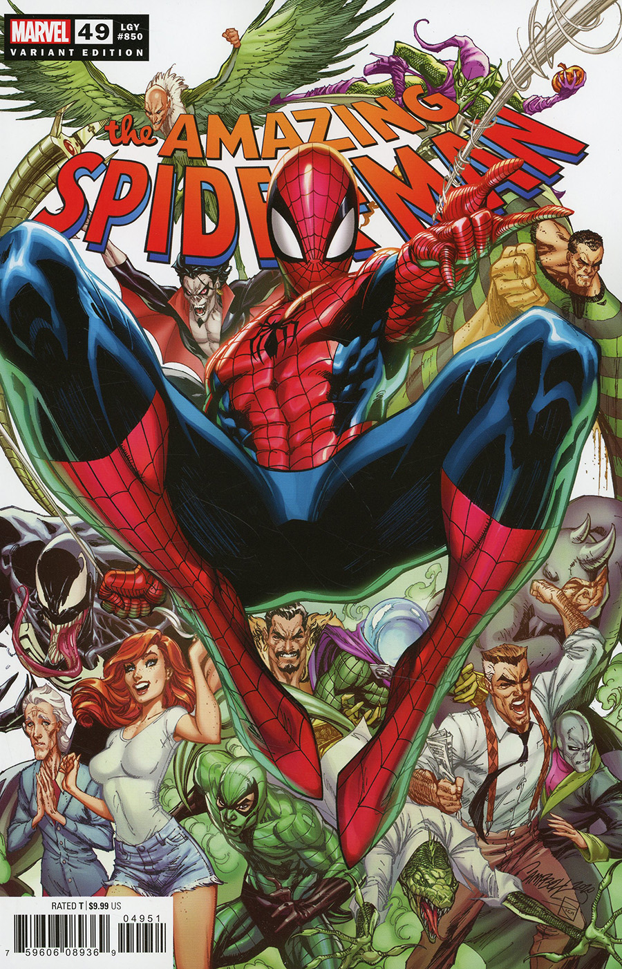 Amazing Spider-Man Vol 5 #850 Cover D Variant J Scott Campbell Cover (#49)