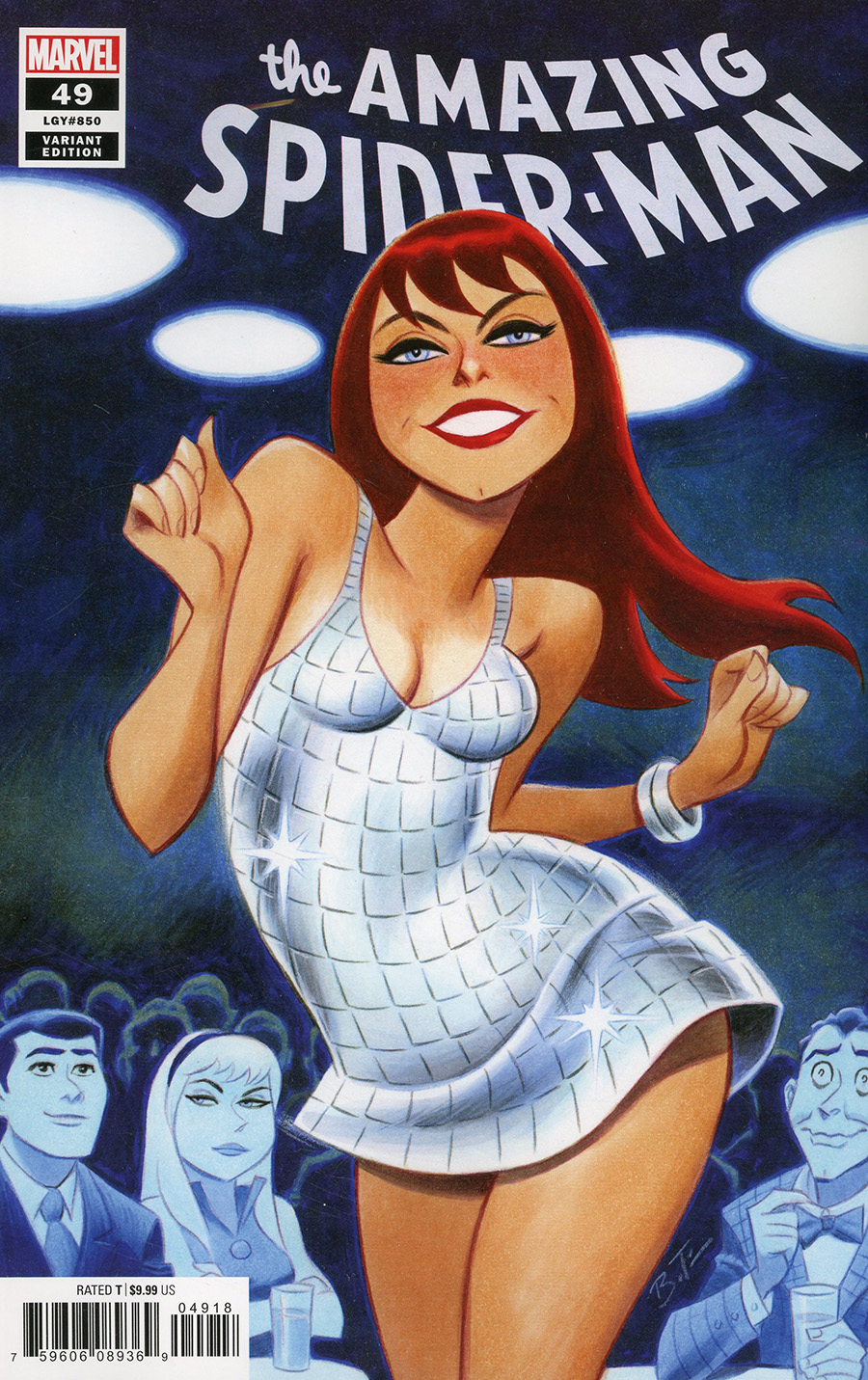 Amazing Spider-Man Vol 5 #49 Cover J Variant Bruce Timm Cover (#850)