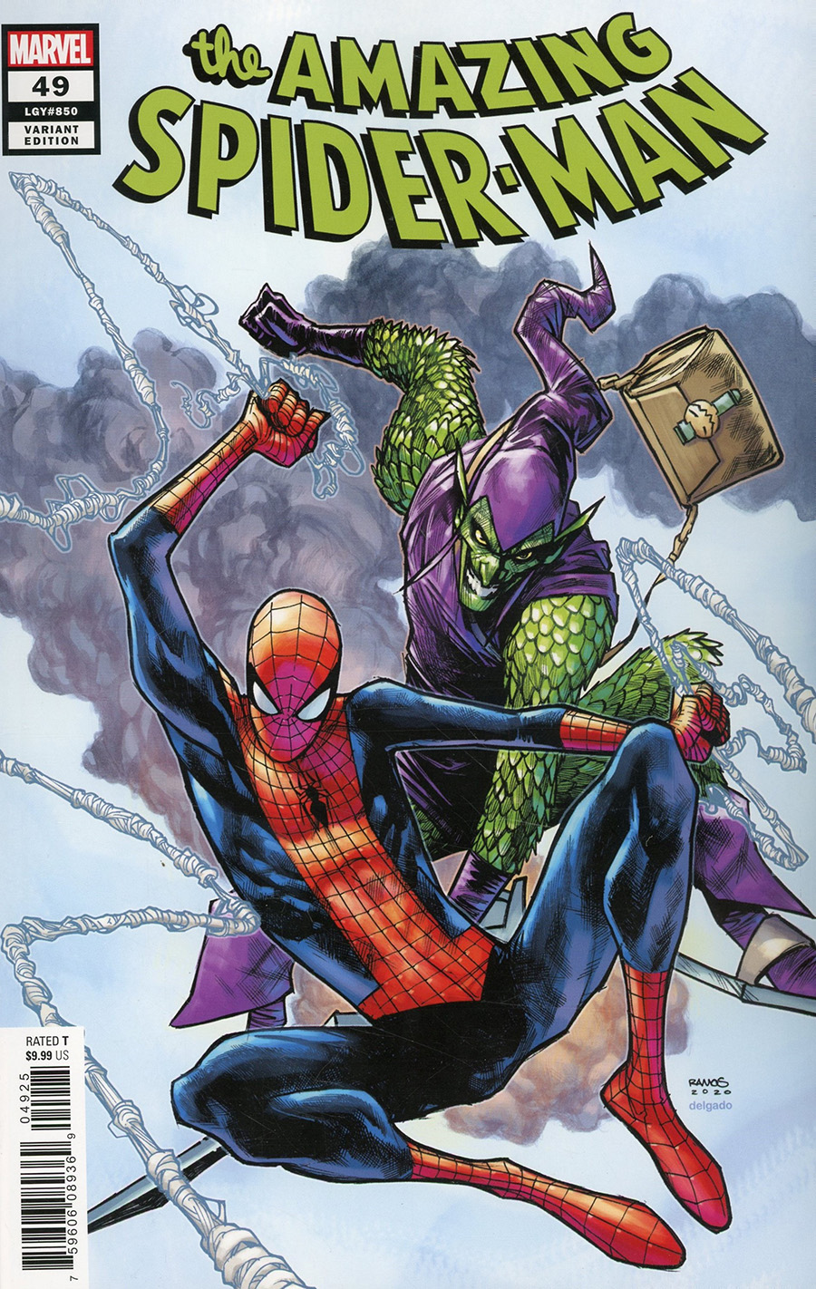 Amazing Spider-Man Vol 5 #49 Cover L Variant Humberto Ramos Cover (#850)