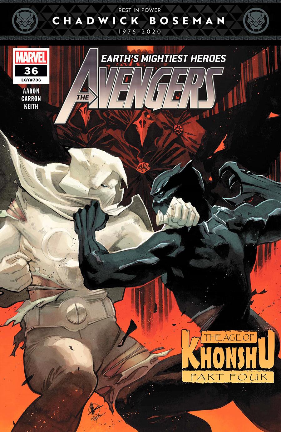 Avengers Vol 7 #36 Cover A 1st Ptg Regular Matteo Scalera Cover