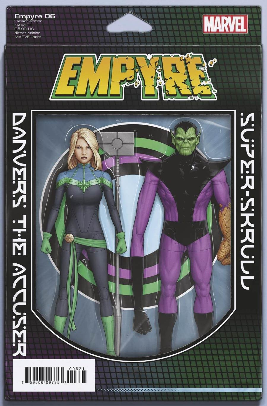 Empyre #6 Cover B Variant John Tyler Christopher Action Figure Cover