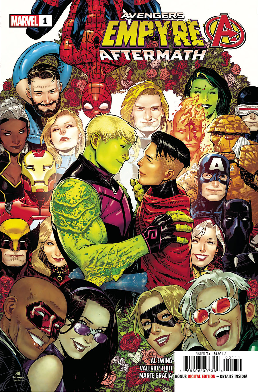 Empyre Aftermath Avengers One Shot Cover A Regular Jim Cheung Cover (Filled Randomly)