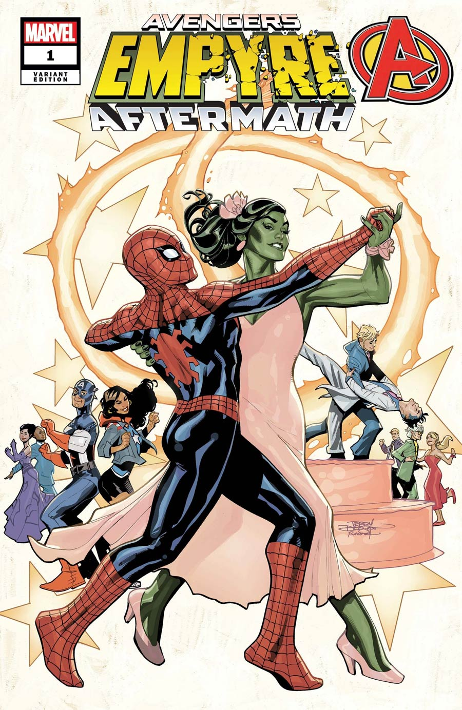 Empyre Aftermath Avengers One Shot Cover B Variant Terry Dodson Cover