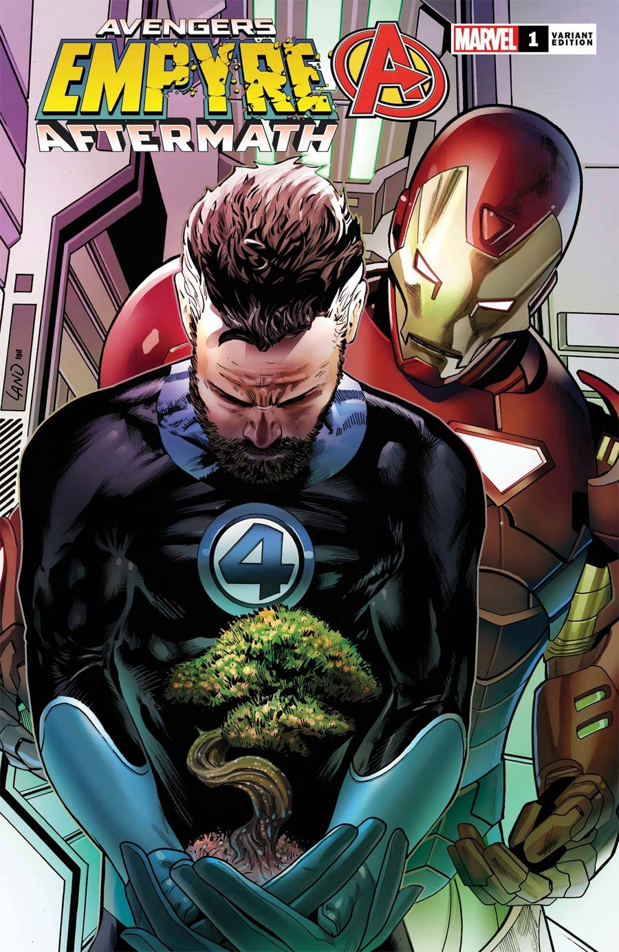 Empyre Aftermath Avengers One Shot Cover C Variant Greg Land Cover