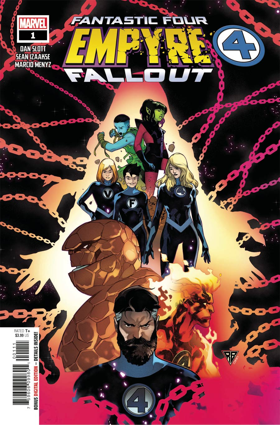 Empyre Fallout Fantastic Four One Shot Cover A Regular RB Silva Cover
