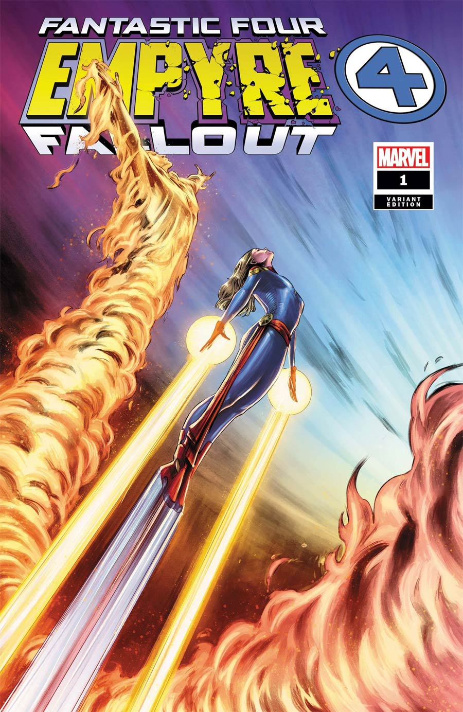 Empyre Fallout Fantastic Four One Shot Cover D Variant Carmen Carnero Cover