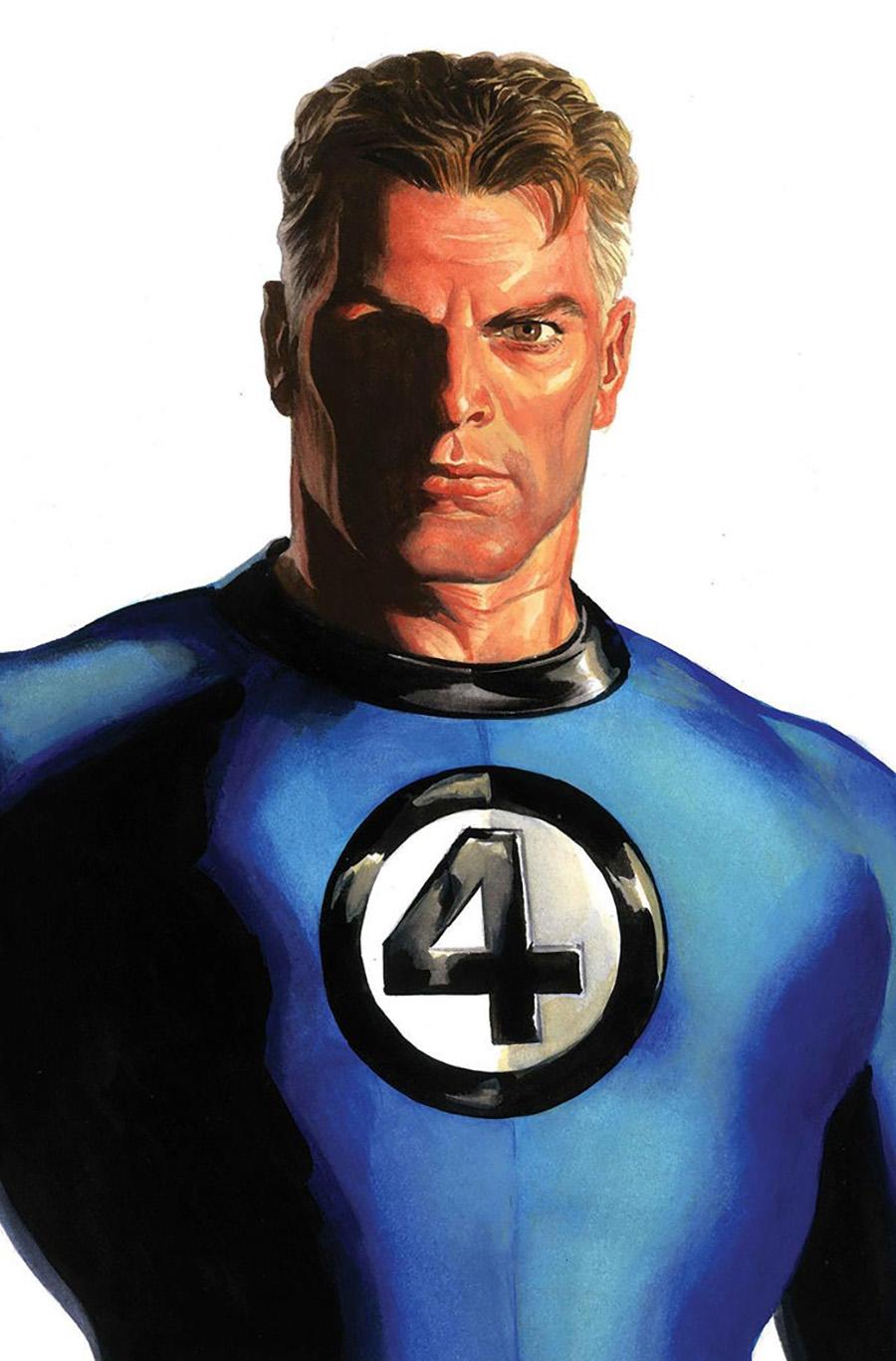 Fantastic Four Vol 6 #24 Cover D Variant Alex Ross Timeless Mister Fantastic Cover (Limit 1 Per Customer)