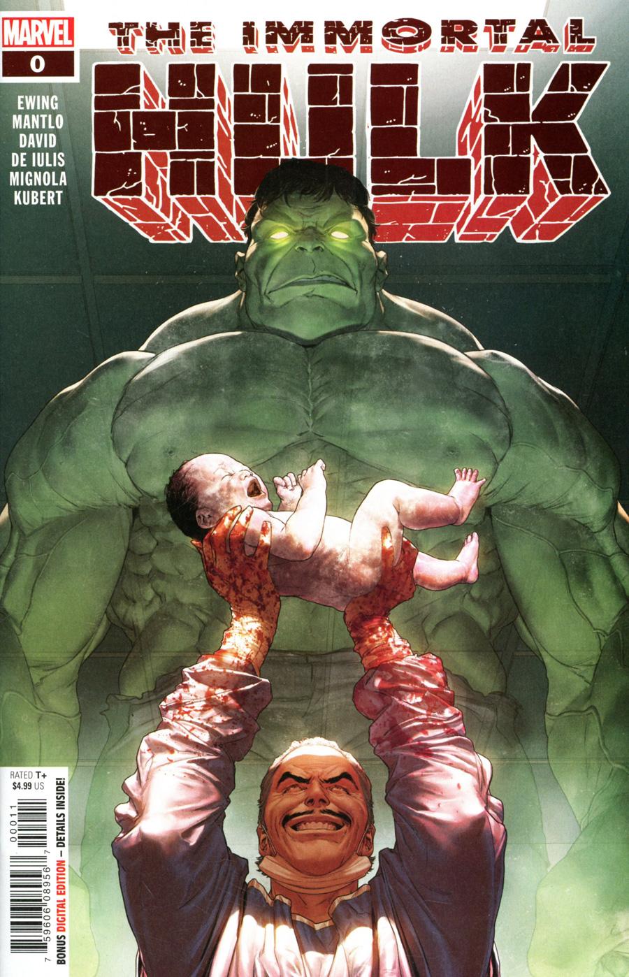 Immortal Hulk #0 Cover A Regular Mattia De Iulis Cover