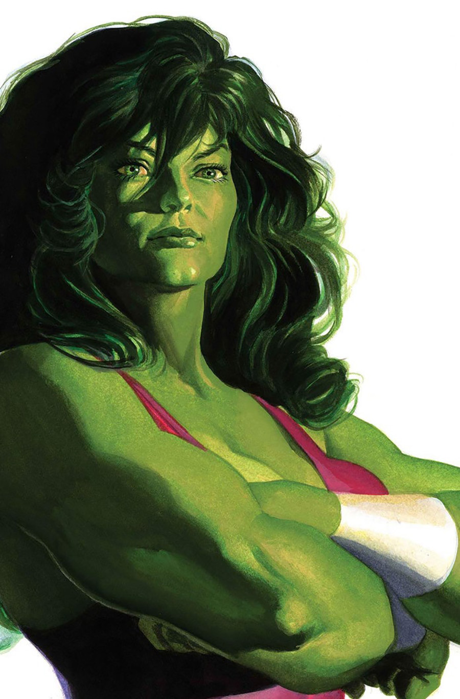 Immortal She-Hulk One Shot Cover B Variant Alex Ross Timeless She-Hulk Cover (Empyre Tie-In)