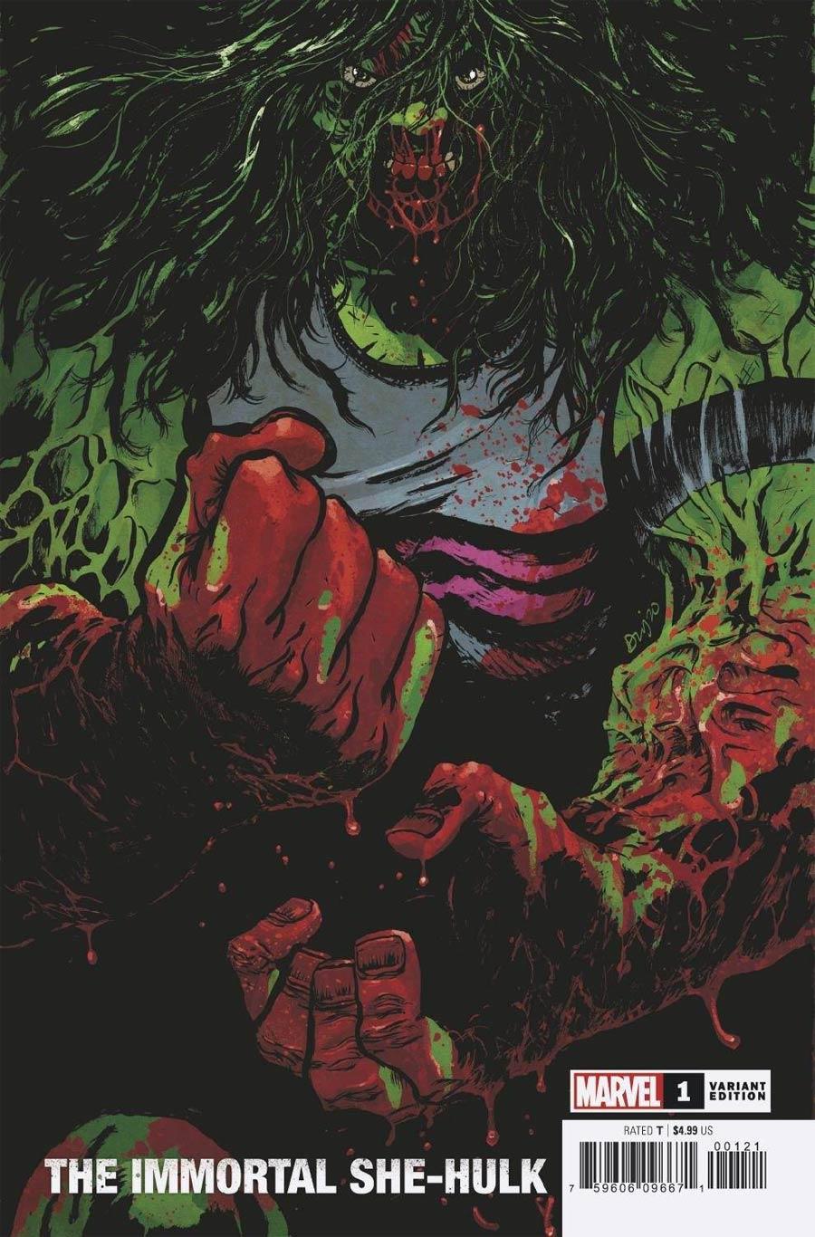 Immortal She-Hulk One Shot Cover C Variant Daniel Warren Johnson Cover (Empyre Tie-In)