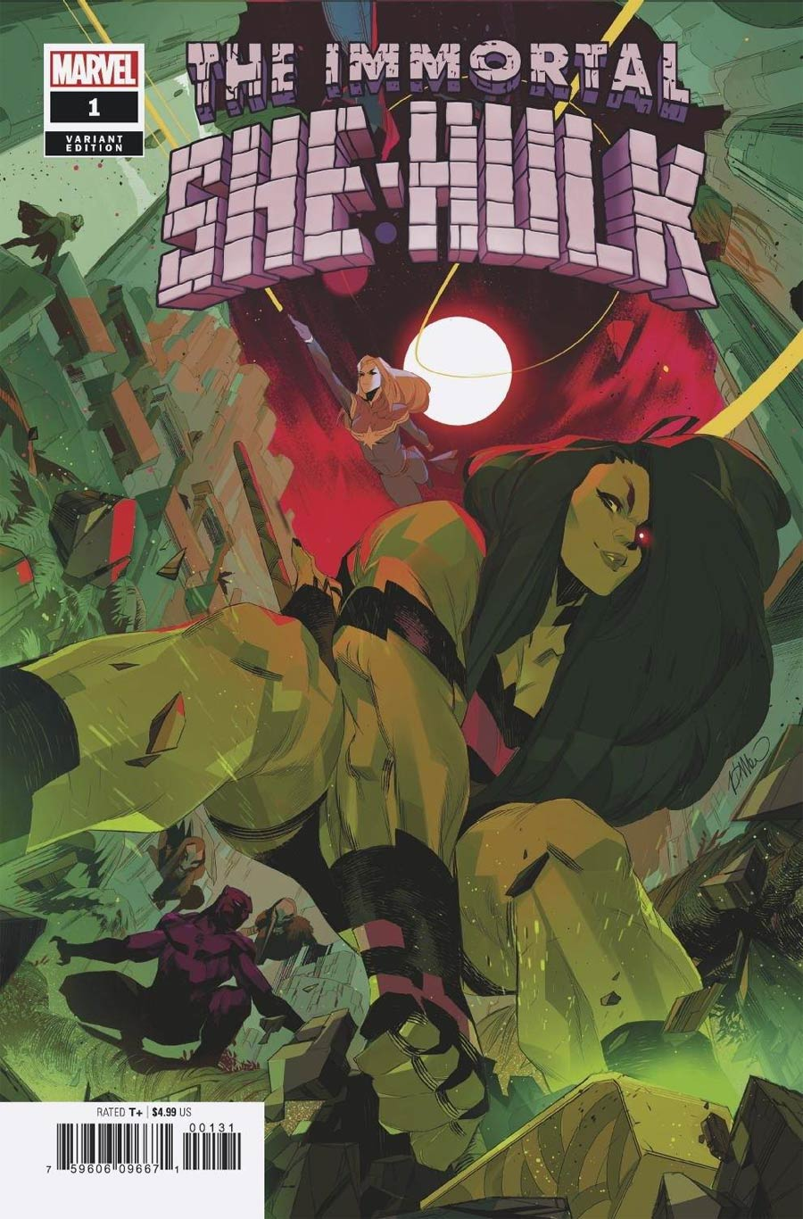 Immortal She-Hulk One Shot Cover D Variant Simone Di Meo Empyre Cover (Empyre Tie-In)