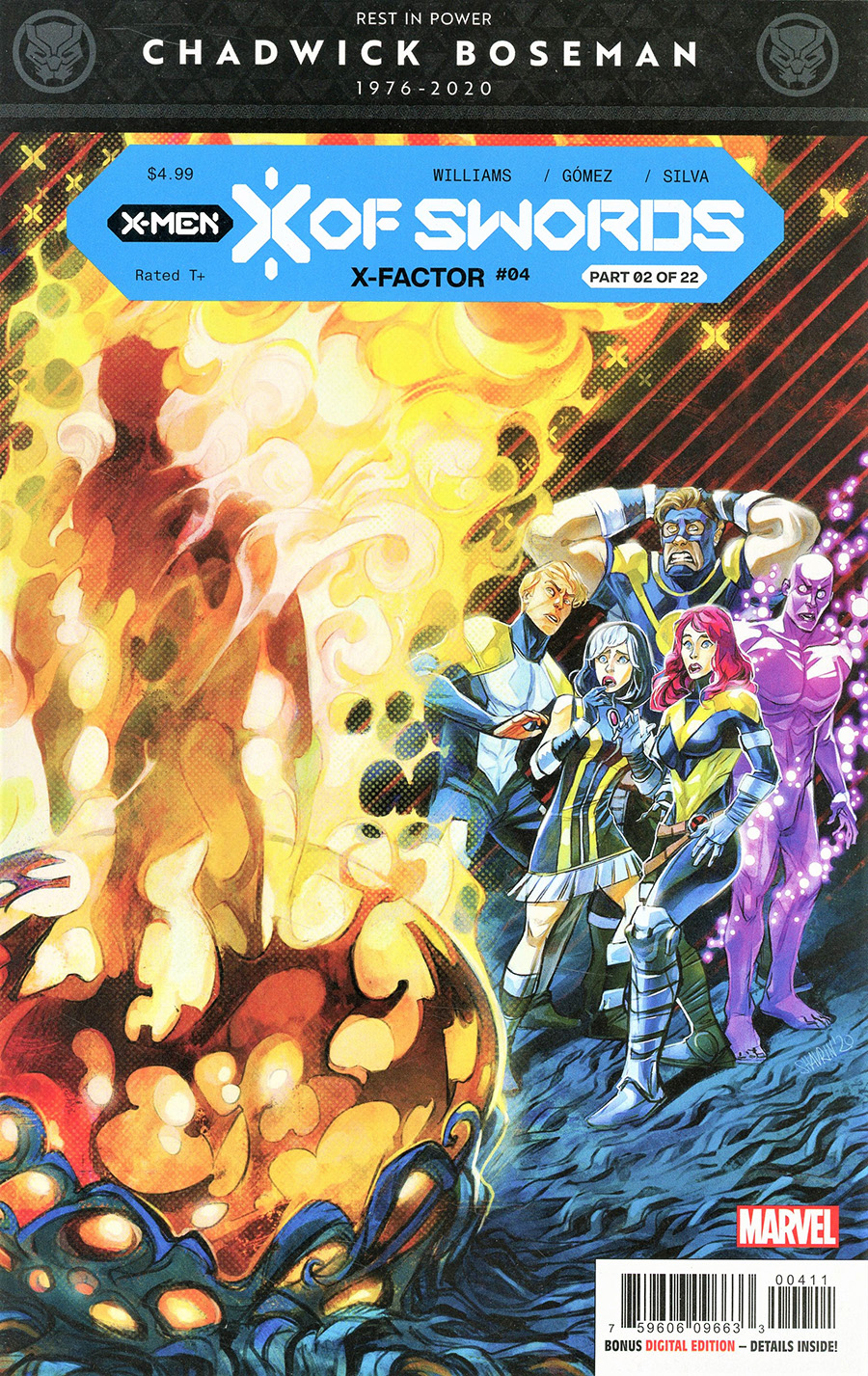 X-Factor Vol 4 #4 Cover A 1st Ptg Regular Ivan Shavrin Cover (X Of Swords Part 2)