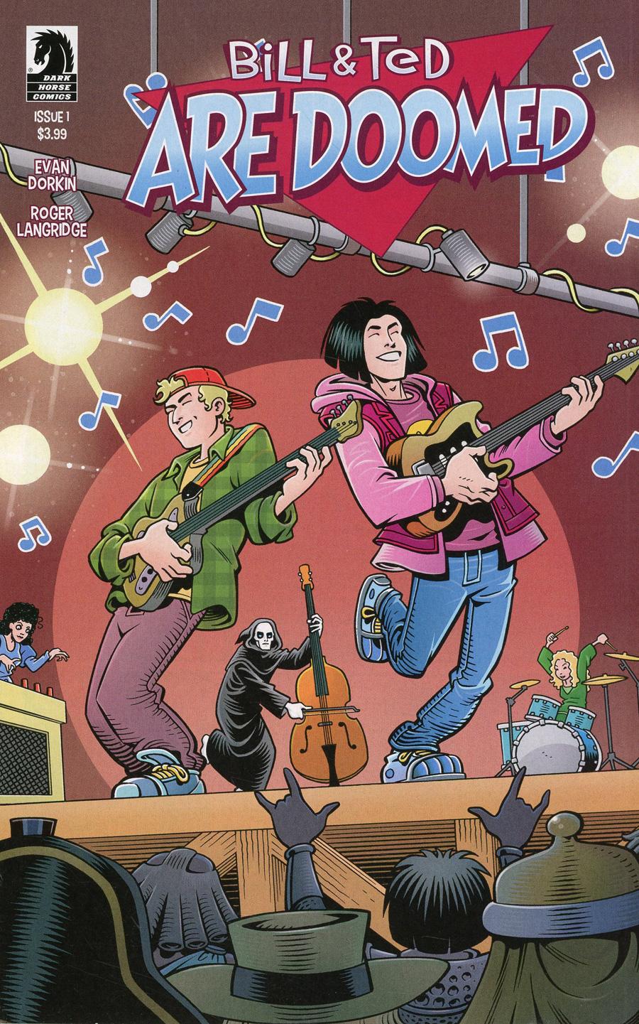 Bill & Ted Are Doomed #1 Cover B Variant Roger Langridge Cover