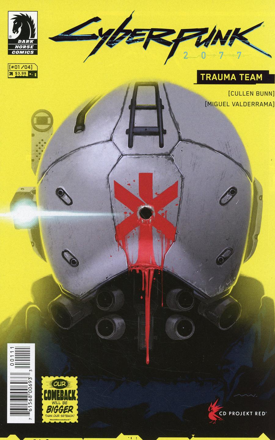 Cyberpunk 2077 Trauma Team #1