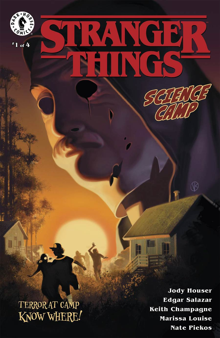 Stranger Things Science Camp #1 Cover A Regular Viktor Kalvachev Cover