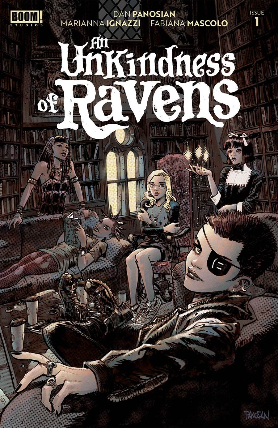 An Unkindness Of Ravens #1 Cover A 1st Ptg Regular Dan Panosian Cover