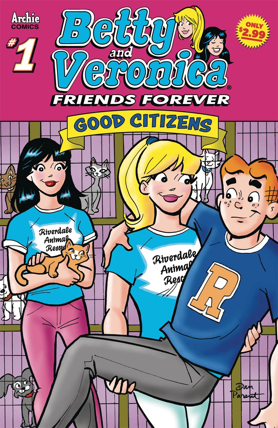 Betty & Veronica Friends Forever Good Citizen #1
