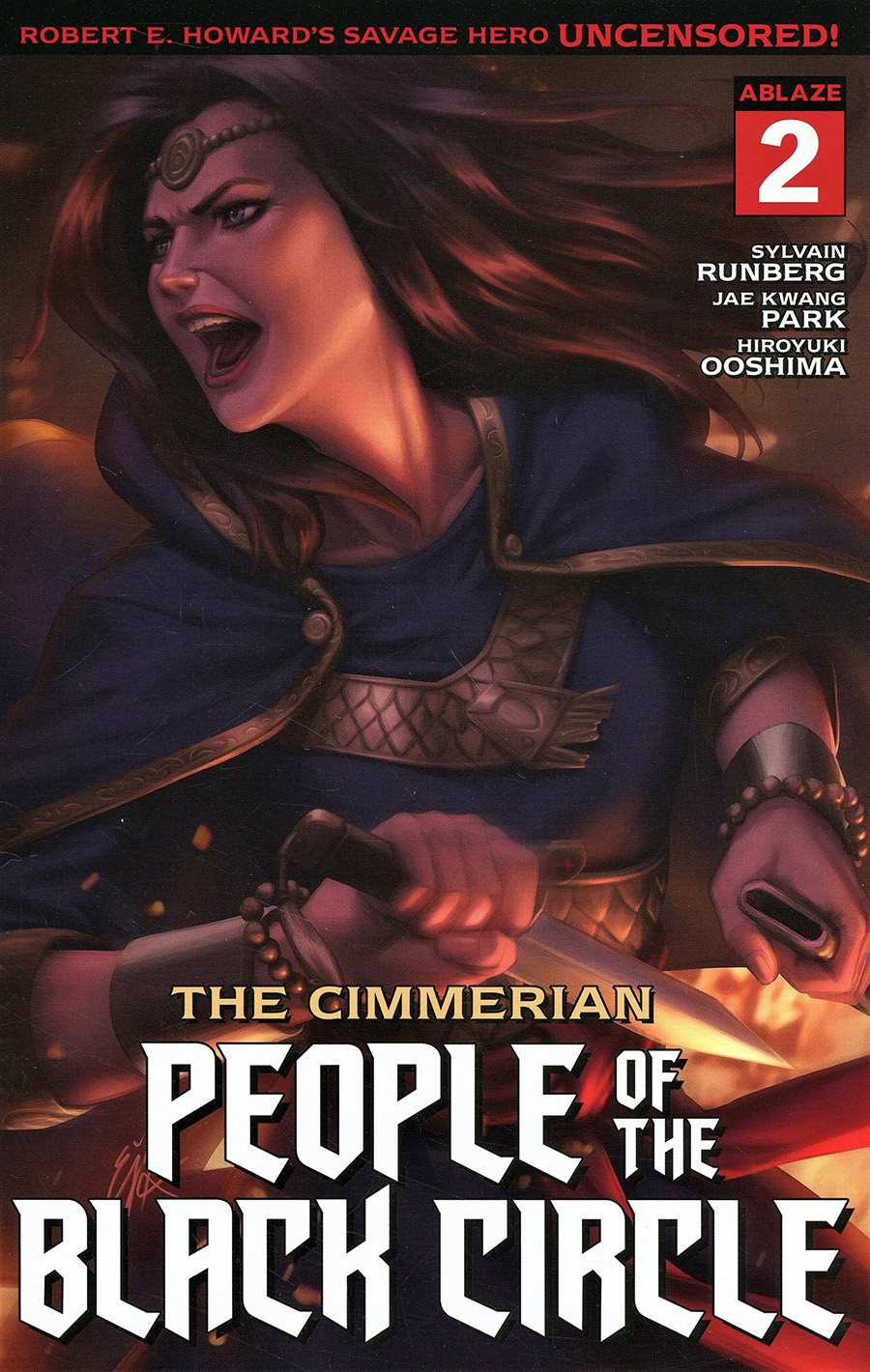 Cimmerian People Of The Black Circle #2 Cover A Regular Ejikure Cover