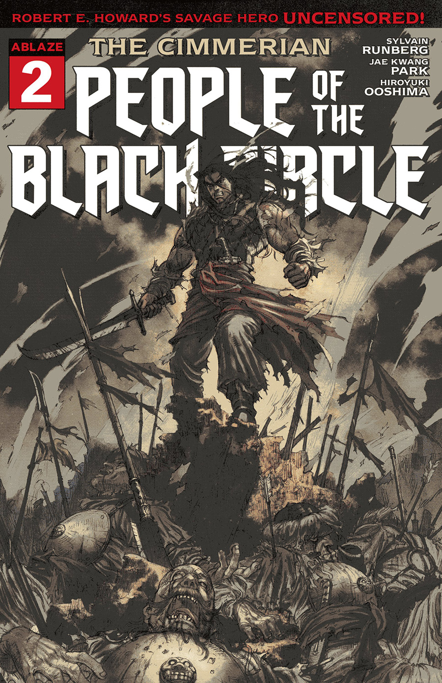 Cimmerian People Of The Black Circle #2 Cover B Variant Jae Kwang Park Cover