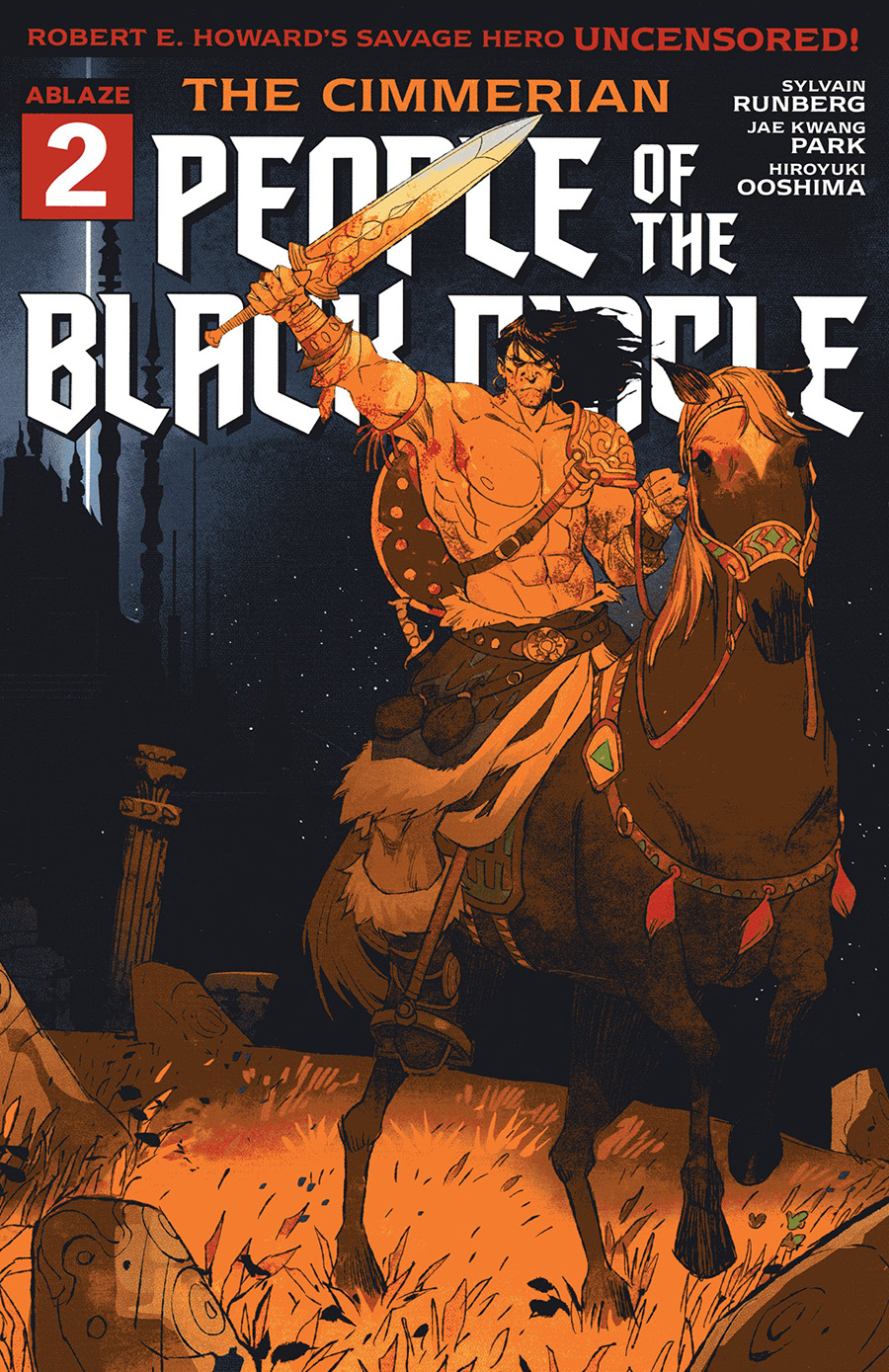 Cimmerian People Of The Black Circle #2 Cover C Variant Miki Montllo Cover
