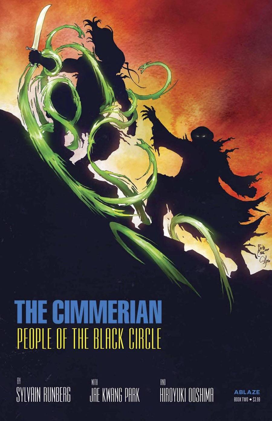 Cimmerian People Of The Black Circle #2 Cover D Variant Fritz Casas Batman Dark Knight Returns 4 Parody Cover