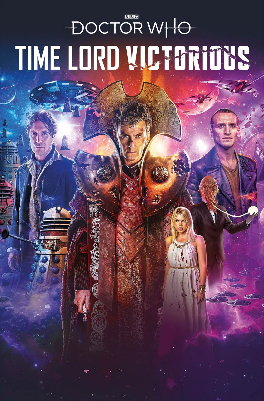 Doctor Who Time Lord Victorious #1 Cover A Regular Lee Binding Cover
