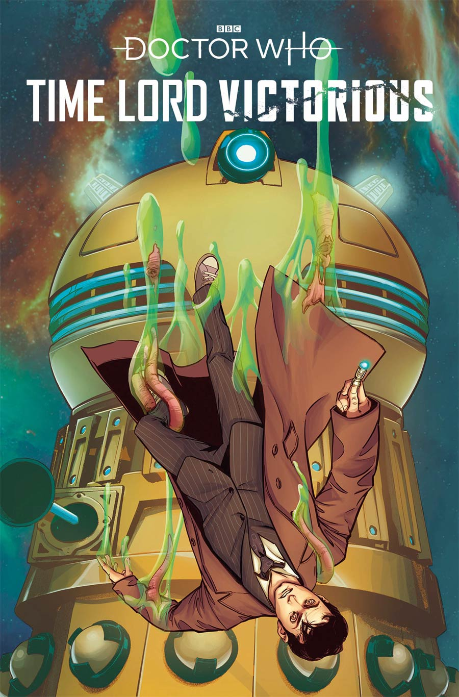 Doctor Who Time Lord Victorious #1 Cover B Variant Priscilla Petraites Cover