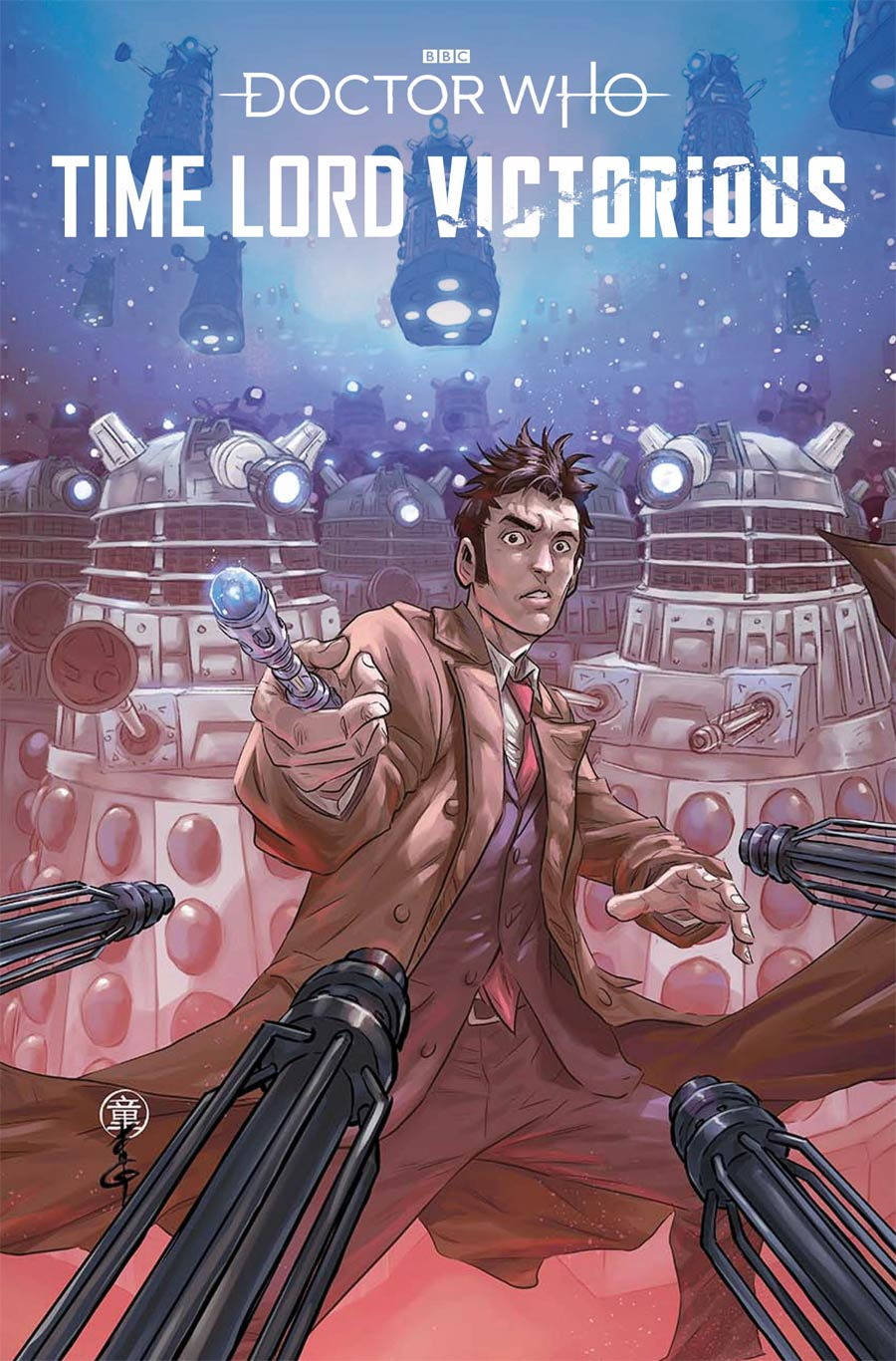 Doctor Who Time Lord Victorious #1 Cover C Variant Andie Tong Cover