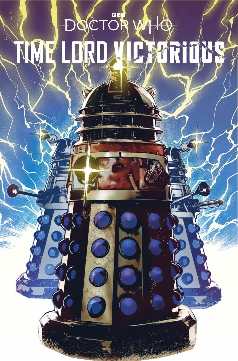 Doctor Who Time Lord Victorious #1 Cover D Variant Hendry Prasetya Dalek Cover